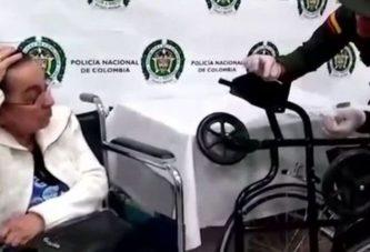 В аэропорт на начиненной кокаином коляске