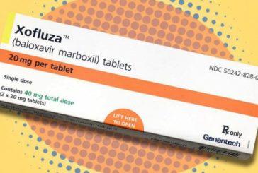 Xofluza - достаточно одной таблетки