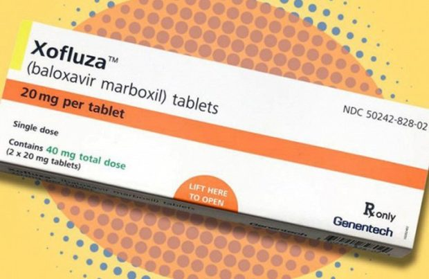 Xofluza baloxavir marboxil - достаточно одной таблетки