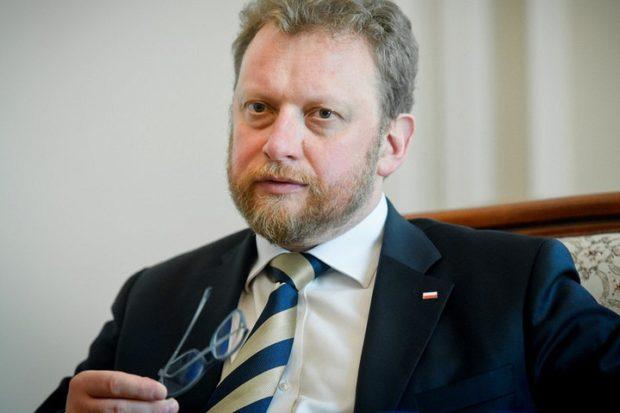Министр здравоохранения Польши Лукаш Шумовски (Łukasz Szumowski)