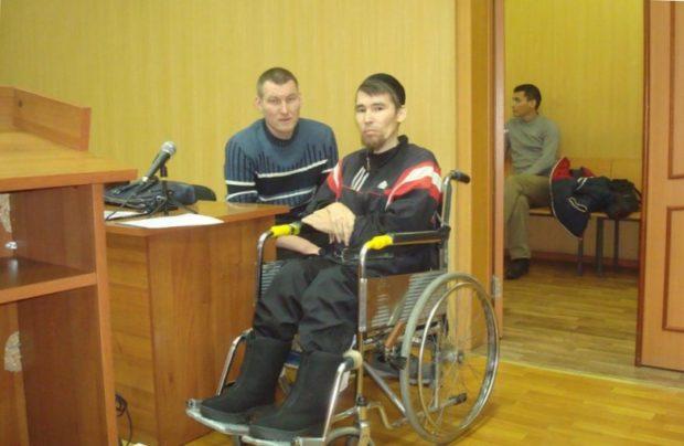 Колясочник получил 11-летний срок условно