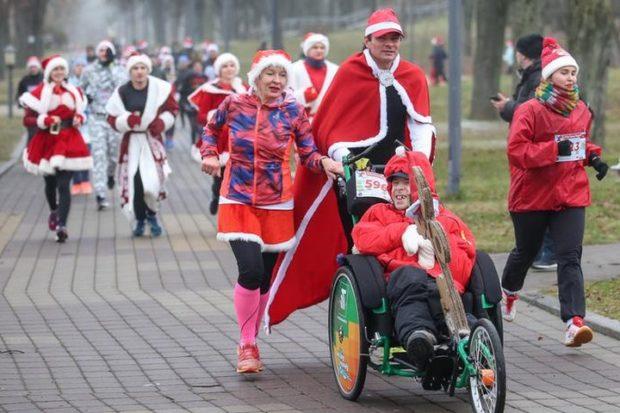 1 января в 9 утра выйти на пробежку - команда «Крылья ангелов»