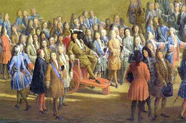 Инвалидная коляска Короля-Солнца Людовика XIV