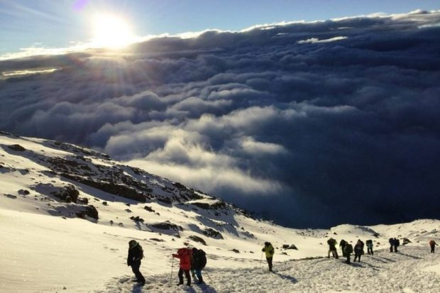 13-летний колясочник покорил Килиманджаро!