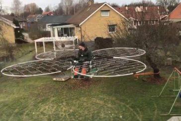 Дрон из Квадрокоптеров