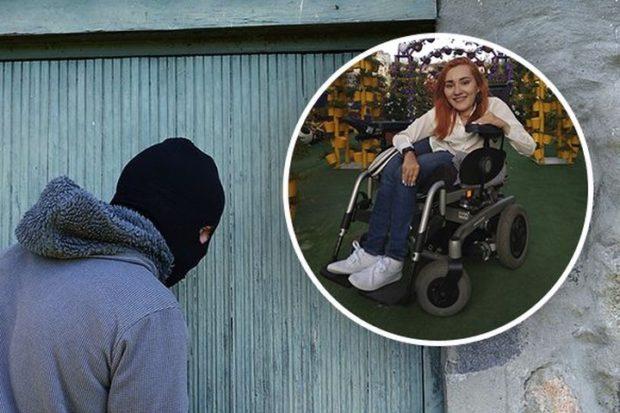 В Харькове у девушки с инвалидностью украли электроколяску