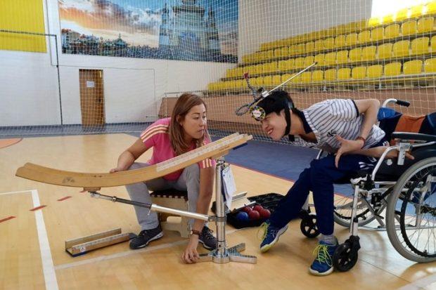 Инвалид-колясочник из Калмыкии стал лучшим в игре бочча