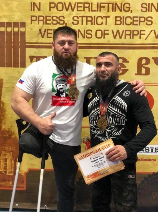 Мурад Мавсаев первое место Кубок Европы по пауэрлифтингу