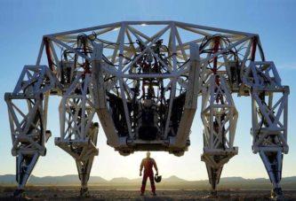 Самый большой в мире четвероногий экзоскелет