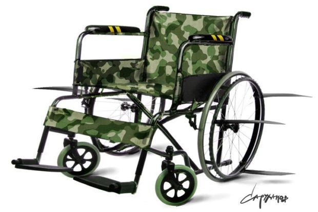 Секретная армия колясочников России