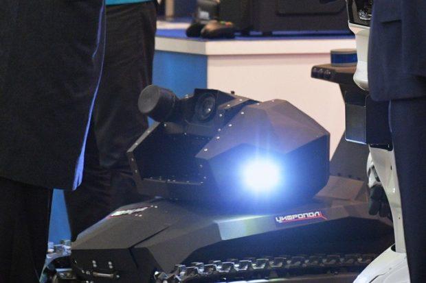 МВД РФ представило роботов-полицейских