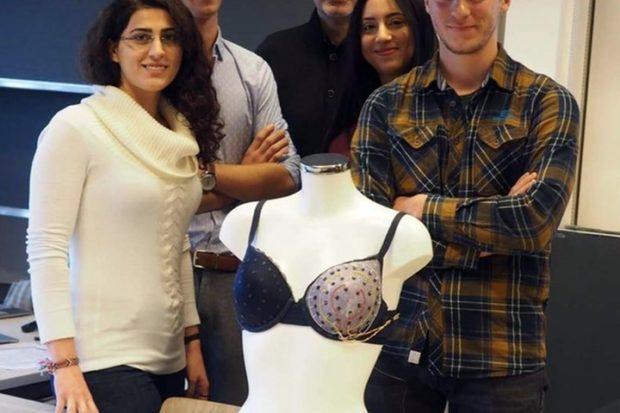 «Умный бюстгальтер» из Швейцарии поможет распознать рак груди