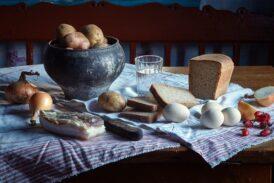 Картофель, сало, яйца и масло реабилитированы
