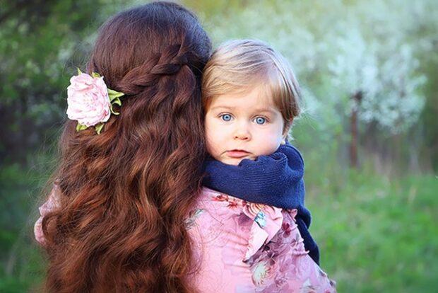 Андриан с мамой
