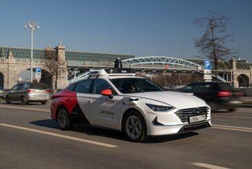 Беспилотная Hyundai Sonata от Яндекса