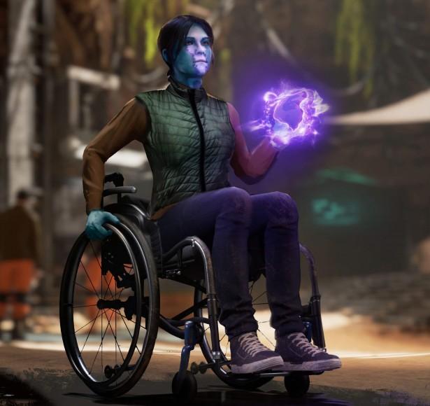 """""""Мстители"""" на инвалидном кресле: Square Enix заботится о людях с ограниченными возможностями"""