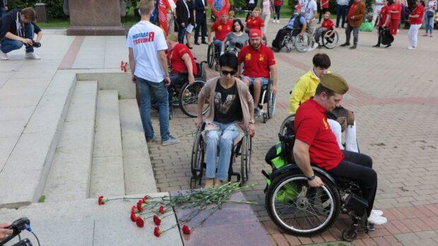 Эстафета инвалидов колясочников «Дорога Памяти»