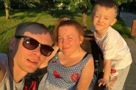 Анастасия Глебова - мама и жена