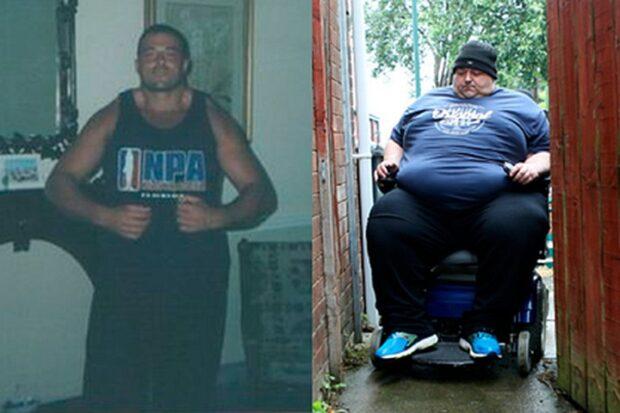 Бодибилдер растолстел до 317 килограммов и оказался в инвалидном кресле
