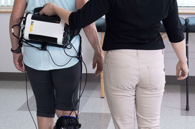 Экзоскелет поможет людям реабилитироваться после инсульта