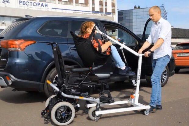 Передвижной подъемник для инвалидов TPS-mini