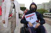 Марш протеста людей с инвалидностью в Минске