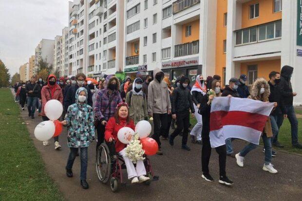 Валентина Криштопенко: Кукловод этих маршей — наша совесть
