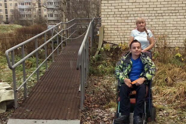 Мама колясочника 4 года добивалась пандуса