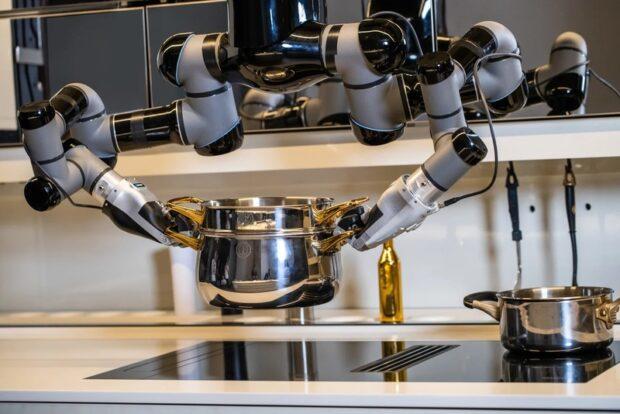Роботизированная кухня за $330000