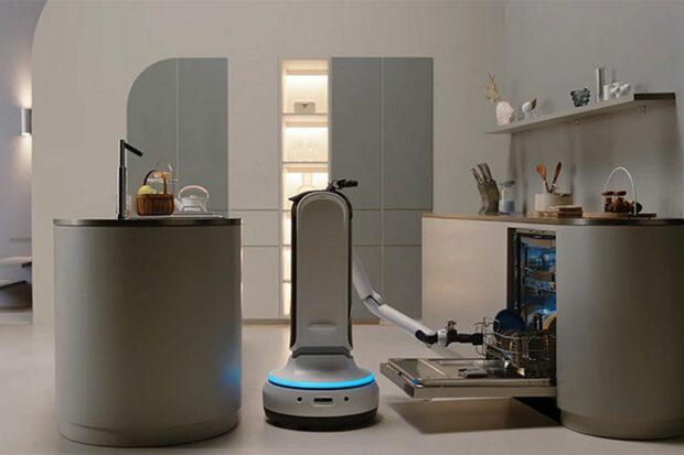 Bot Handy, который уберёт вещи, сервирует стол, загрузит посудомойку и принесёт вино