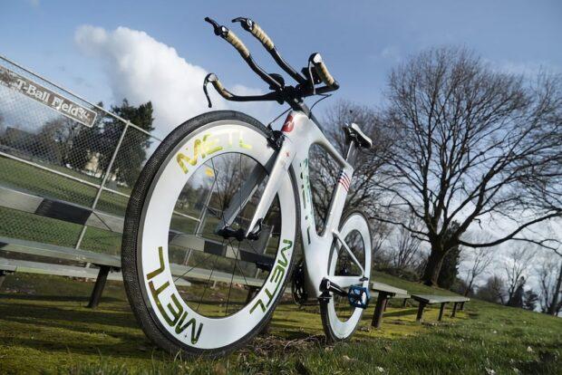 Безвоздушная велосипедная шина по технологии NASA