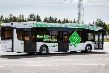 В Витебске на днях пустят первый электробус
