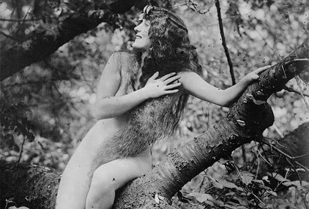 Аннет Келлерман в фильме «Дочь богов», 1916 год