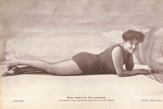 Аннет Келлерман — пловчиха, кинозвезда, модельер