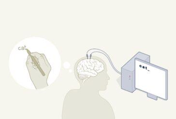 Нейропротез, мысли в печатный текст