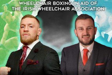 Боксерский поединок в колясках