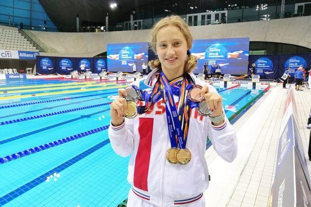 Валерия Шабалина установила рекорд на Параолимпиаде в Токио