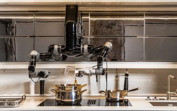 Кухонный робот Moley приготовит обед за вас