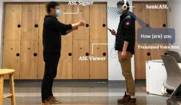 Модифицированные наушники понимают язык жестов