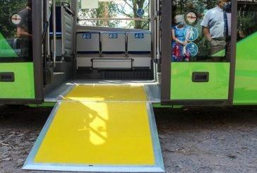 Заказать подачу низкопольного автобуса на пригородный рейс