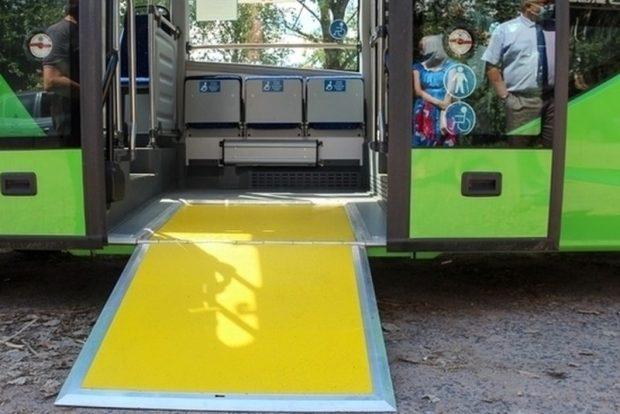 Маломобильные псковичи смогут заказать подачу низкопольного автобуса на пригородный рейс
