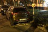 Капитан полиции упорно паркуется на месте для инвалидов