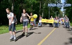 Пензенские роллеры и инвалиды - Нас не догонят